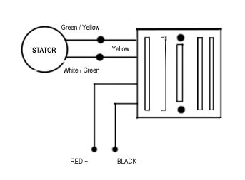 wire rectifier wiring diagram image wiring diagram 4 pin regulator rectifier wiring diagram jodebal com on 6 wire rectifier wiring diagram