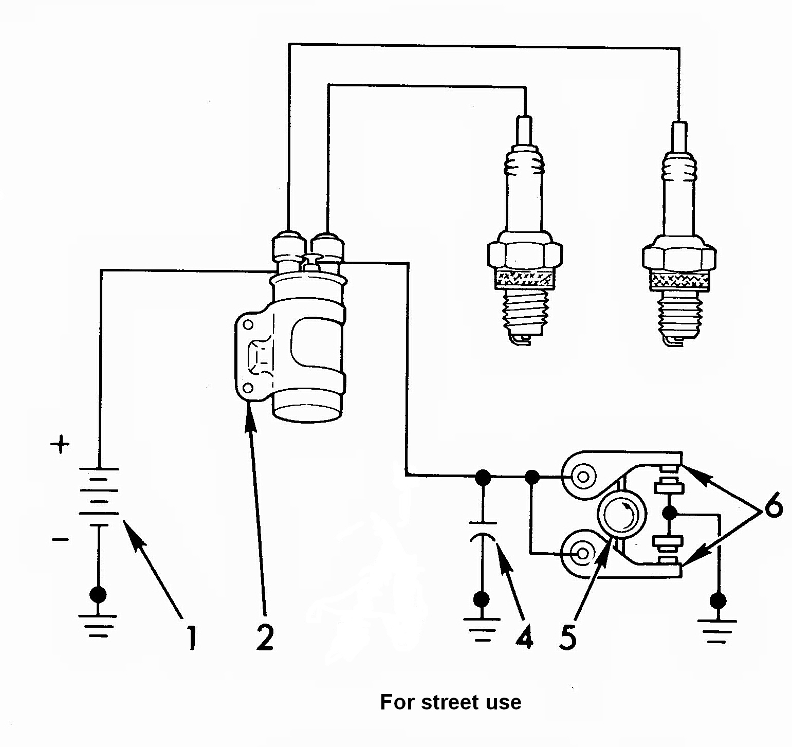 12 volt ignition coil wiring diagram 12 volt battery parallel wiring diagram