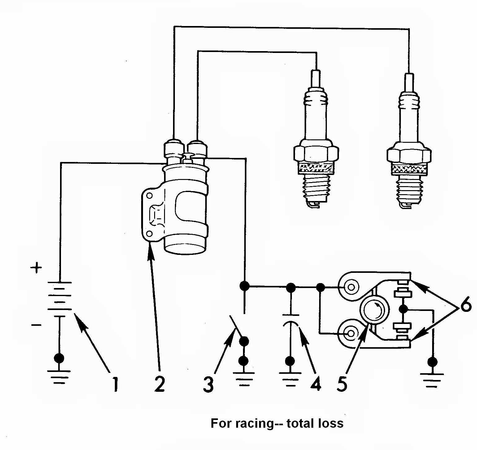 motorcycle wiring diagrams wires ignition  ignition